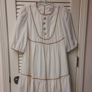 Erin Featherstone White  Doll Prairie Dress Boho 3